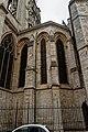 Rouen - Rue des Bonnetiers - View North on la Cathédrale Notre-Dame.jpg