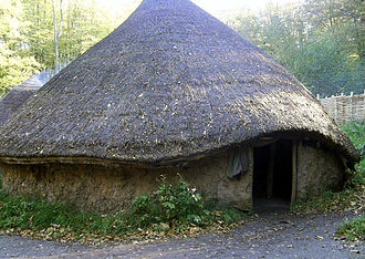 Roundhouse (dwelling) - A reconstruction of a British Iron Age Celtic roundhouse.