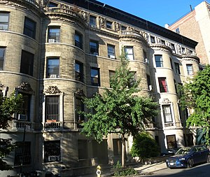 89th Street (Manhattan) - Houses on West 89th St