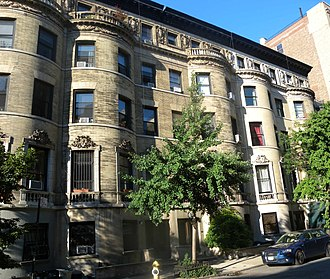 89th Street (Manhattan) - Houses on West 89th St