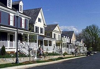 Kentlands, Gaithersburg, Maryland Neighborhood of Gaithersburg in Montgomery, Maryland, United States