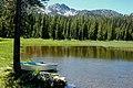 Rowboat at Anthony Lakes, Wallowa Whitman National Forest (33633713544).jpg