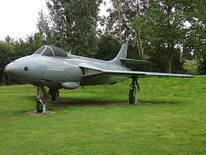 No. 1417 Flight RAF - A Hunter FR.10 similar to those used on 1417 Flight.