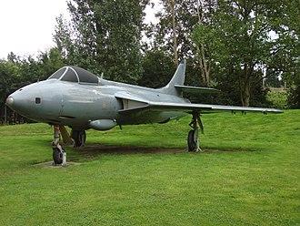 No. 1417 Flight RAF - A Hunter FR.10 similar to those used on 1417 Flight.