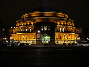 Adele Live - Image: Royal Albert Hall, Floodlighted geograph.org.uk 627398