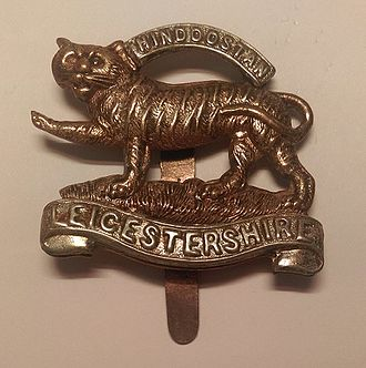 Royal Leicestershire Regiment - Badge of the Royal Leicestershire Regiment