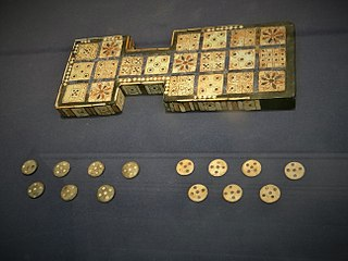 Royal game of Ur, Mesopotamia , 2600-2400 BC.jpg