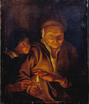 Rubens, Sir Peter Paul - A Boy lighting a Candle from one held by an Old Woman - Google Art Project.jpg