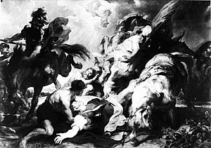 The Conversion of Saint Paul (Rubens, Berlin) - Image: Rubens Conversion of St. Paul