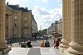 Rue Soufflot as seen from the Panthéon, Paris 2014.jpg
