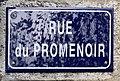 Rue du Promenoir (Belley), panneau de rue, novembre 2019.jpg