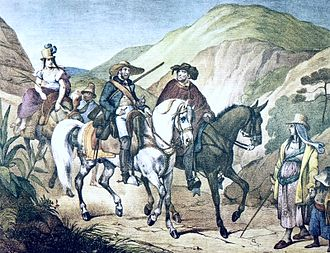 Minas Gerais - People of Minas Gerais in the 1820s