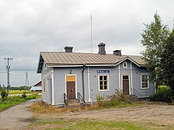 Ruha railway station in Lapua.jpg