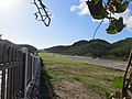 Runway at Gustaf III Airport, St Barths, Oct 2014 (15096918914).jpg