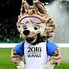Zabivaka, mascotte officielle du Mondial 2018.
