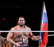 Rusev, one-time champion