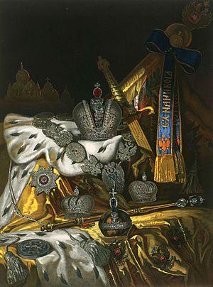 Emperor of All Russia - Regalia of the Emperor