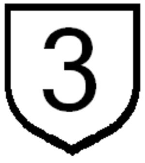 Route 10 (Paraguay) - Image: Ruta 3 paraguay sign