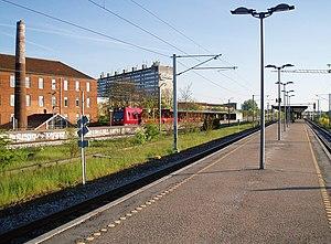 Ryparken station - Image: Ryparken Station 11+12 S