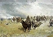 Ryszkiewicz Tatars in the vanguard