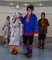 Sámi presentation in the cultural Centre in Lovozero, Kola Peninsula, Russia.jpg