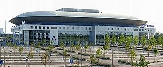 SAP Arena - Image: SA Parena Pano N