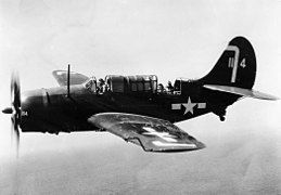 SB2C-5 VB-150 in flight 1945.jpeg