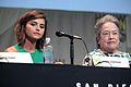 SDCC 2015 - Jenna Coleman & Kathy Bates (19742521241).jpg
