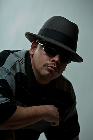 Serio (rapper) - Serio at his 2010 photo shoot for Gansterism Part 3 album.
