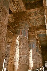 Medinet Habu Temple Wikipedia