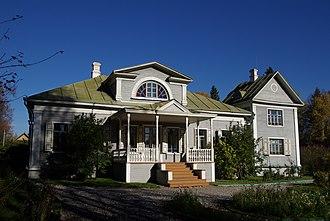 Alexander Blok - Shakhmatovo, Blok's country house