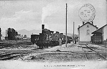 Ligne de bayonne saint jean pied de port wikip dia - Train from bayonne to st jean pied de port ...