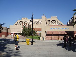 Event Center Arena - The Event Center, October 2010