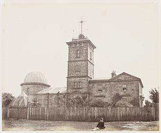 Astronomy - 19th-century Sydney Observatory, Australia (1873)