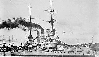 SMS <i>Hannover</i> Deutschland-class battleship