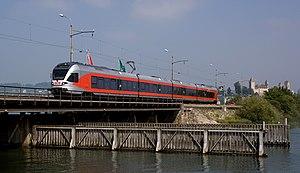 Stadler FLIRT - Stadler FLIRT of the Swiss Südostbahn on Seedamm