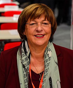 Ulla Schmidt - Image: SPD Bundesparteitag Leipzig 2013 by Moritz Kosinsky 003