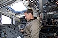STS-125 Commander Scott Altman Works on the Flight Deck during Flight Day 7 (28075653362).jpg