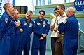STS-134 crew meets Michelle and Barack Obama.jpg