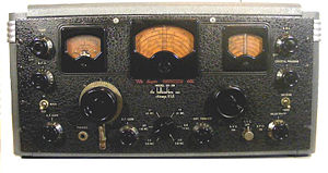Communications receiver - Image: SX28front