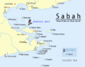 Sabah-Islands-DarvelBay PulauBatik-Pushpin.png