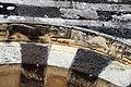 Saccargia, portico, ghiera con rilievi 02.JPG