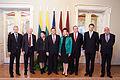 Saeimu oficiālā vizītē apmeklē jaunievēlētais Lietuvas Seima priekšsēdētājs (8266741980).jpg