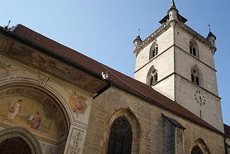 Estavayer-le-Lac - Collegiate church of Saint-Laurent