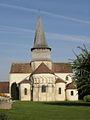 Saint-Outrille (18) Collégiale Saint-Austrégésile 01.JPG