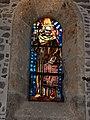 Saint-Pierre-de-Clages. Église, intérieur, vitrail, saint Robert de Molesme.jpg