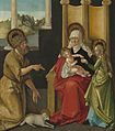 Saint Anne with the Christ Child, the Virgin, and Saint John the Baptist A29067.jpg