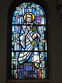Saint Charles Seminary (Carthagena, Ohio), Chapel of the Assumption, stained glass, St. Peter.jpg