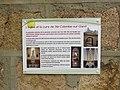 Sainte-Colombe-sur-Gand - Plaque explicative église et cure.jpg