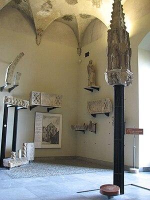 Santa Maria in Brera - Remains of the portal in the Museo d'Arte Antica of the Castello Sforzesco